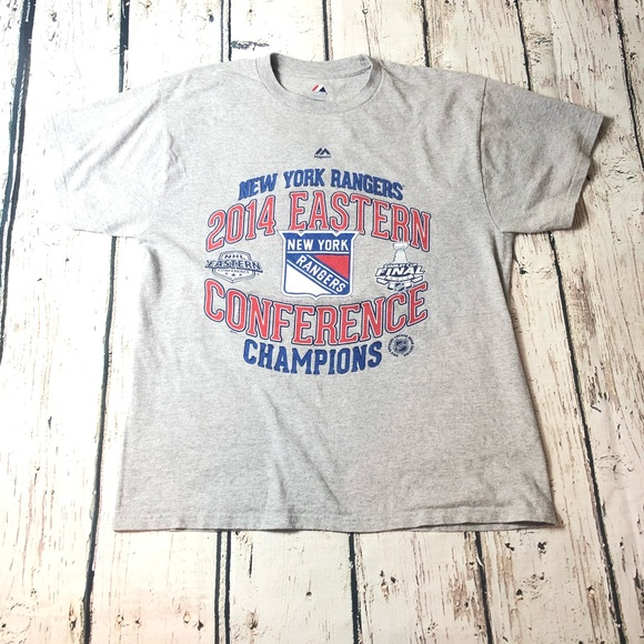 Majestic Other - New York Rangers NHL T-Shirt 2014 Majestic NYC NY